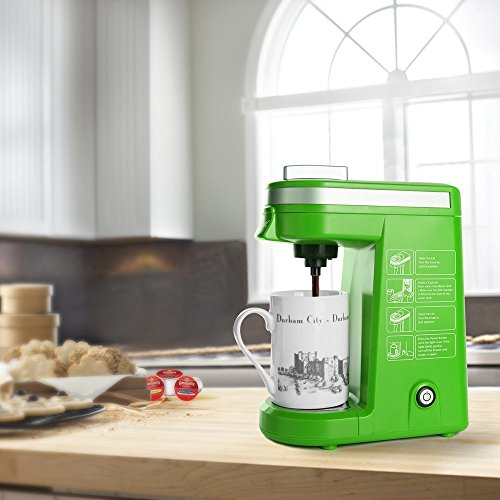 Drip Coffee Maker Vs Single Serve : CHULUX Single Serve Coffee Maker with Removable Drip Tray for K-Cup,Green 11street Malaysia ...