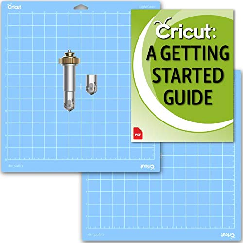 Cricut Maker New Scoring Wheel Combo for Cards and Boxes with Blue Light Grip Mat