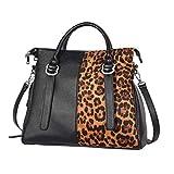 IBFUN Women Handbags Top Handle Bags PU Leather Purse Ladies Satchels Tote Bags