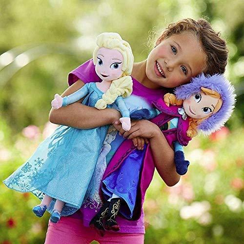 (VINSS - cm Snow Eelsa Stuffed Doll Princess Anna Elsa Doll Toys Stuffed Plush Childrens Toys Gift - by VINSS - 1)