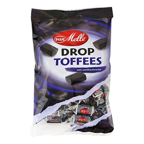 van Melle Licorice Toffee 8.8 Oz Bag (Pack of 6) by Van Melle