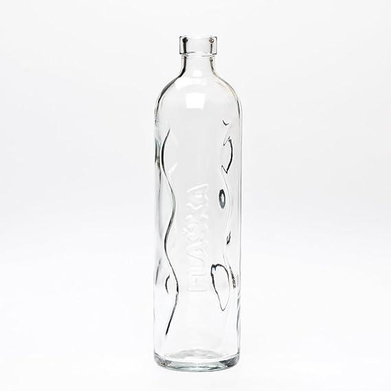Flaska Botella de Agua Reutilizable de Vidrio - Neo: Amazon.es: Deportes y aire libre