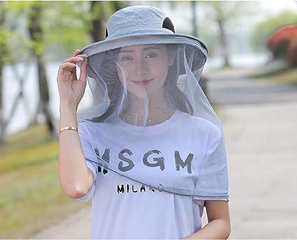 ce744ffa5556b9 J&JOYCE Head Net Hats,Sun Hats,Bucket Hat with Hidden Zipper Net Mesh  Protection