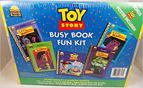 Walt Disney\'s Toy Story Busy Book Fun Kit ; Poster, Trace & Color ...