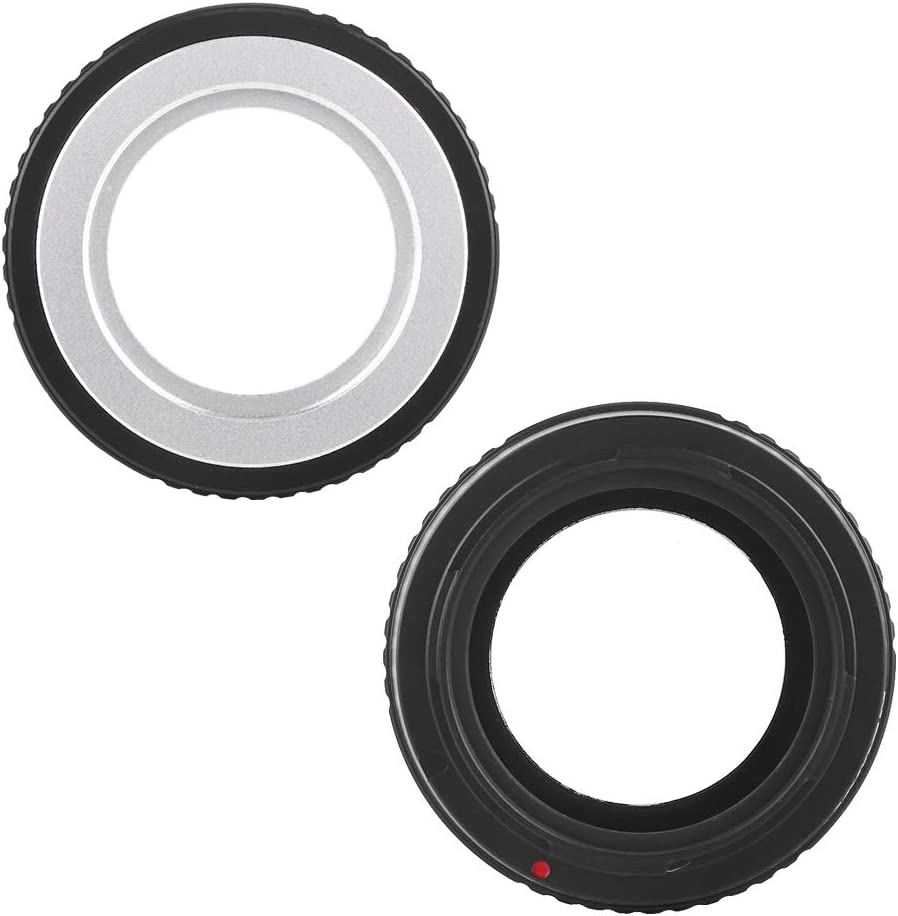 Oumij Lens Adapter Ring Manual Focus Lens Control Ring for M42 Mount to Fit for Leica T//TL//CL//SL Mount Camera
