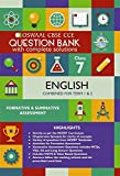 Oswaal CBSE CCE Question Bank With Complete Solutions for Class 7 English