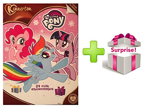 official Christmas 2018 advent calendar MY LITTLE PONY/PINK + gift surprise (EXCLUSIVE) MadeInAngleterre