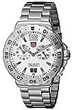 TAG Heuer Men's WAU111B.BA0858 Formula 1 White Dial Grande Date Alarm Watch