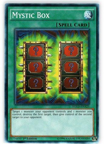 Yu-Gi-Oh! - Mystic Box (YGLD-ENA25) - Yugi's Legendary Decks - 1st Edition - Common (1st Yu Edition Cards Oh Gi)