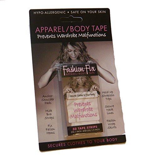 FF01 Box Of 50 (25 1/2+25 1'')) Fashion Fix Tape