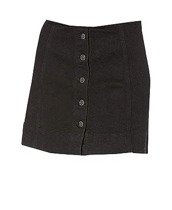 76d91d1ae4 Joanna Women's Corduroy Button Closure Mini A-Line Skirt at Amazon ...