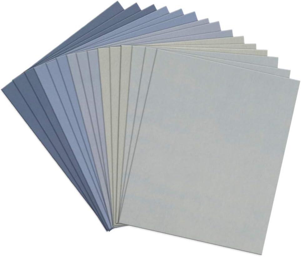 5x Nass Schleifpapier Latexpapier 280x230mm Korn 1000
