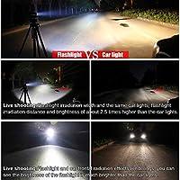 WasaFire USB Rechargeable Bike Lights-1200 Lumens Fully Waterproof Mountain Road
