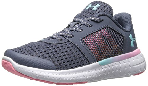 Under Armour Kids Girls Pre School Micro G Fuel Prism Alternate Lace Running Shoe