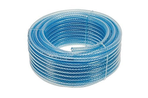 Pearl PPH07C 6mm x 1m Rubber Fuel Hose with Clips