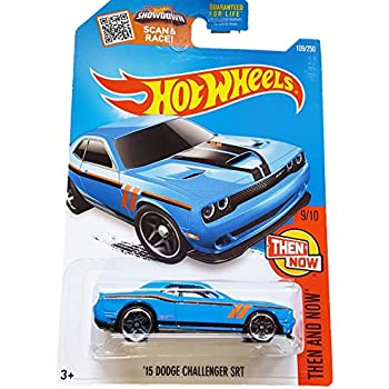 Amazon Com Hot Wheels 2016 Then And Now 15 Dodge Challenger Srt
