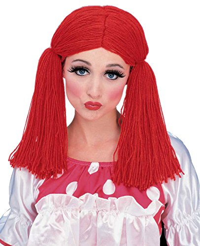 Raggedy Ann Andy Costumes Adults (50825/128 Raggedy Anne Wig)