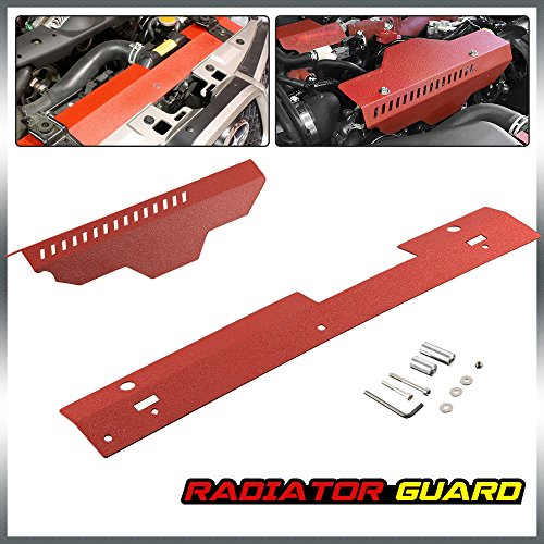 Radiator Shroud & Pulley Belt Cover Combo For 2002-2007 Subaru WRX & STi 2003 2004 2005 by G-PLUS