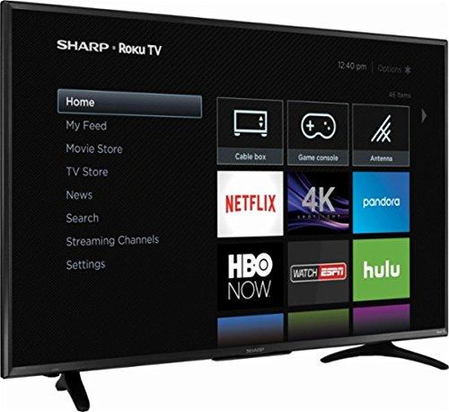Sharp 55 Quot Led 2160p Smart 4k Ultra Hd Tv Roku Tv Deals