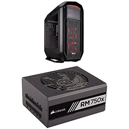 Corsair Graphite Series 780T Full Tower PC Case - Black and Corsair RMx Series, RM750x