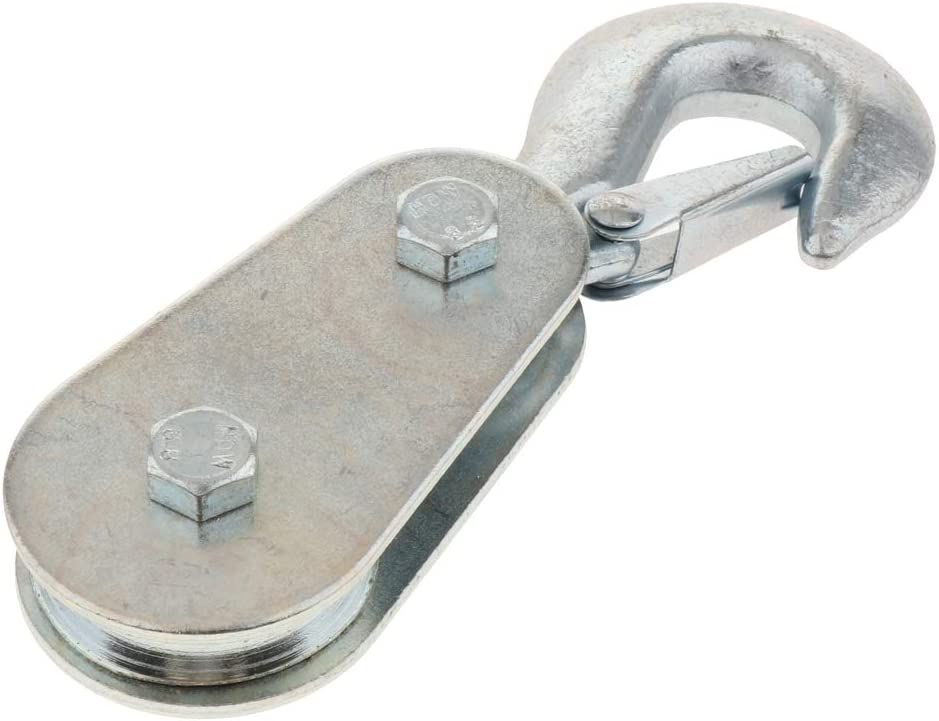 Shiwaki Commercial Reliability Hook Snatch Block,Snatch Block with Swivel Hook 2 ton Load Capacity
