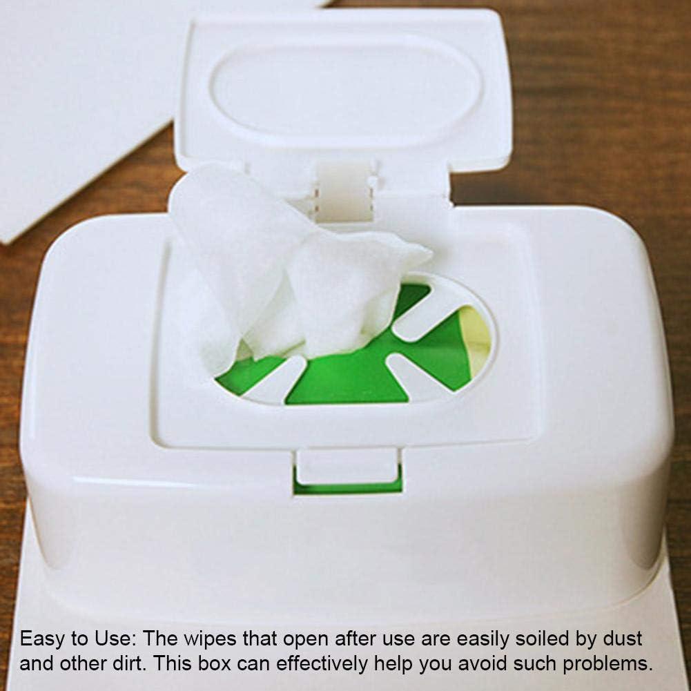 Tissue Aufbewahrungsbox Wipes Serviettenetui Wet Wipes Dispenser Halter Beh/älter F/ür Waschtische//Arbeitsplatten//Schreibtisch//B/üro//Wohnheim H/ält Die T/ücher Frisch courti Wipes Dispenser