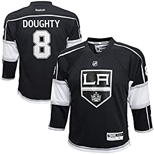 Drew Doughty Los Angeles Kings Black NHL Youth Reebok Replica Home Jersey
