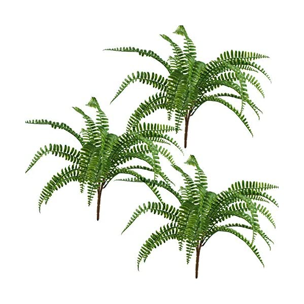 Lily-Garden-18-Artificial-Soft-Plastic-Fern-Package-of-3