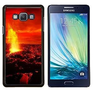 TECHCASE---Cubierta de la caja de protección para la piel dura ** Samsung Galaxy A7 ( A7000 ) ** --Espacio Planet Galaxy Estrellas 10