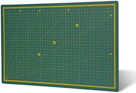 Destyx Profi Schneidematte A3 (45 x 30 cm) zum Nähen, Basteln und Patchworken selbstheilend aus recyceltem PVC