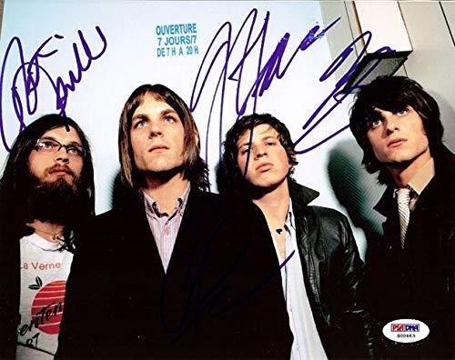 Kings of Leon Autographed 8x10 Photo Caleb Followill, Nathan Followill, Jared Followill & Matthew Followill #S00463 - PSA/DNA Certified