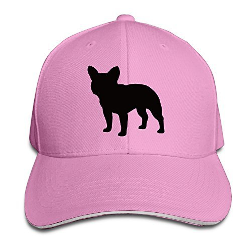 ONE A DAY French Bulldog Cute Puppy Sandwich Cap Comfortable Hat Pink