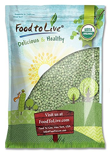 Organic Sprouting Green Peas by Food to Live — 5 Pounds by Food to Live