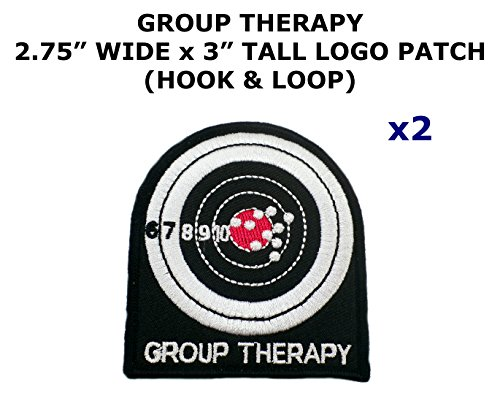 2 PCS Group Therapy 2nd Amendment Tactical Theme DIY Iron / Sew-on Decorative Applique - Costume Diy America Captain