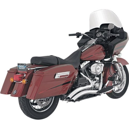 Vance and Hines Big Radius 2-Into-2 Full System Exhaust for Harley Davidson 200 - One Size (1 Full System Exhaust)