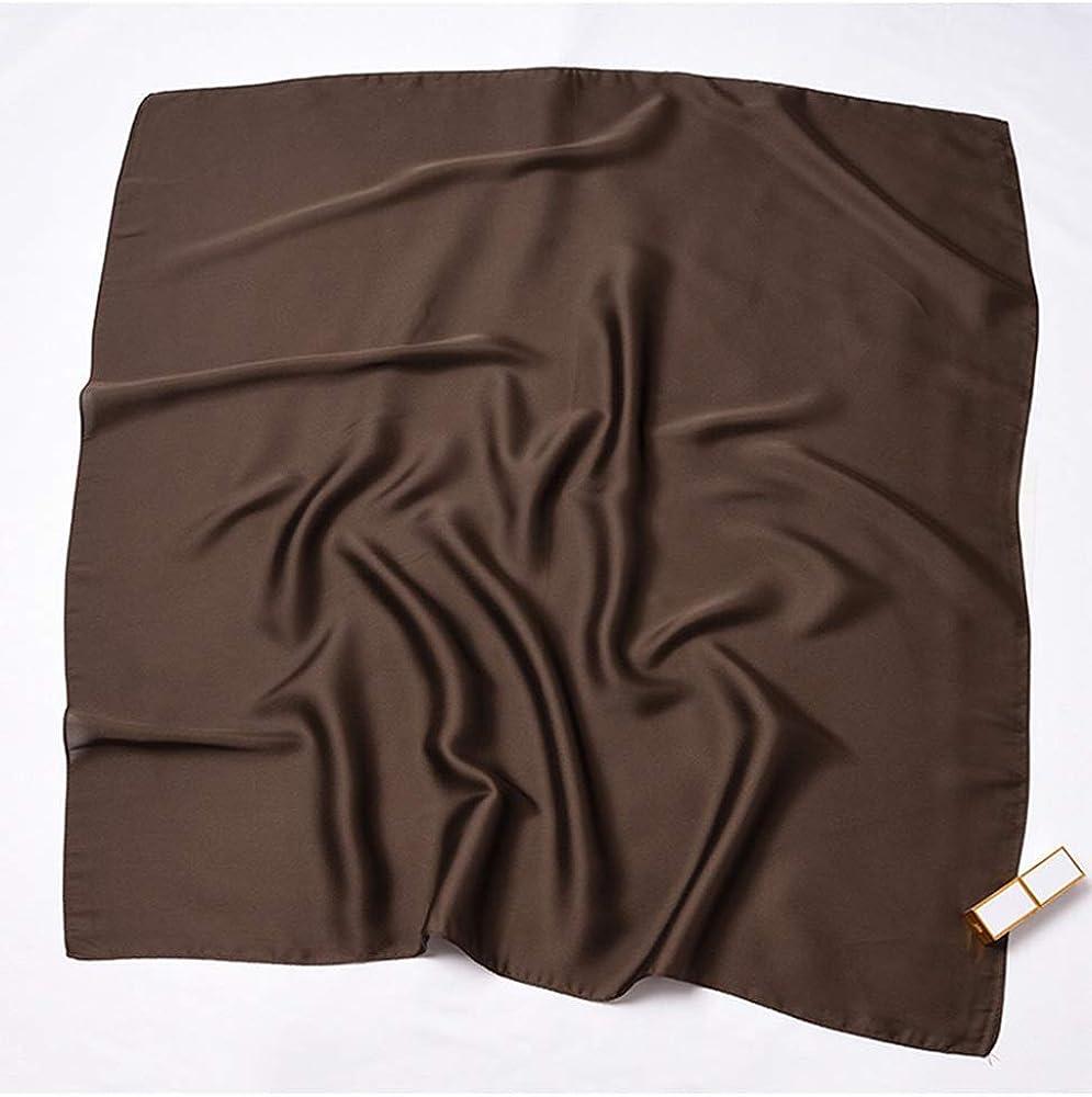 Einfarbiges Kopftuch Quadratischer Schal Dekoration-Schal Fr/ühling /& Herbst Schal HIDOUYAL Damen Halstuch 70cmx70cm