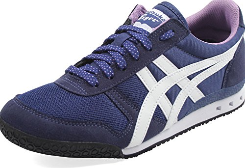 Onitsuka Tiger - Womens Ultimate 81 Sneakers, Size: 8.5 B(M) US, Color: Navy Peony/Smoky Grape