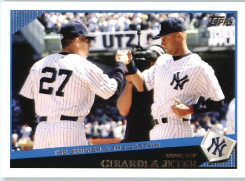 Joe Girardi Derek Jeter Classic Combo New York Yankees 2009 Topps Update Baseball Card Uh69 Mlb Baseball Trading Card In