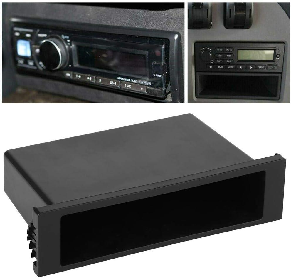 1Din Car Stereo Radio Dashboard Storage Case Pocket Box Inner Interior Organizer Accessories Car Radio Storage