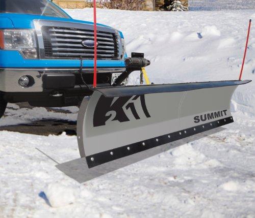 Buy Cheap K2 Plows SUMM8826 Summit Snow Plow, 88 by 26-Inch