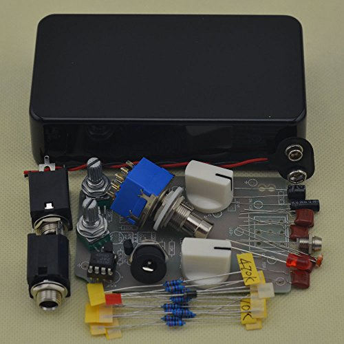 DIY Compressor Effect Pedal All Kits With 1590B Black