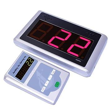 PrimeMatik - Gestión de Colas electrónico Su Turno 3-dígitos programable (Visor y Controlador): Amazon.es: Electrónica