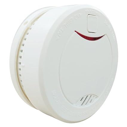 Heiman® HM-626PHS-Detector de humo de alarma contra incendios con batería integrada