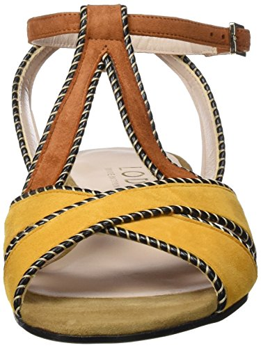 looking for cheap online Lodi Women's Bondue Sling Back Sandals Multicoloured (Suede Advocat / Curry / Lombardy) looking for sale online for sale for sale free shipping the cheapest P0X7I
