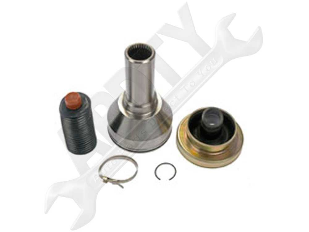 APDTY 043416 Front Driveshaft Drive Shaft Front CV Joint Kit Fits 2002-2012 Dodge RAM 1500 4x4 2004-2006 Durango AWD w/ DH7 Electric Shift Single Speed Transfer Case; Repairs 52123021AC, 52105990AB)