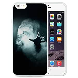 NEW Unique Custom Designed Case For Ipod Touch 4 Cover Phone Case With Hand Smoke Mistery Magic_White Phone Case