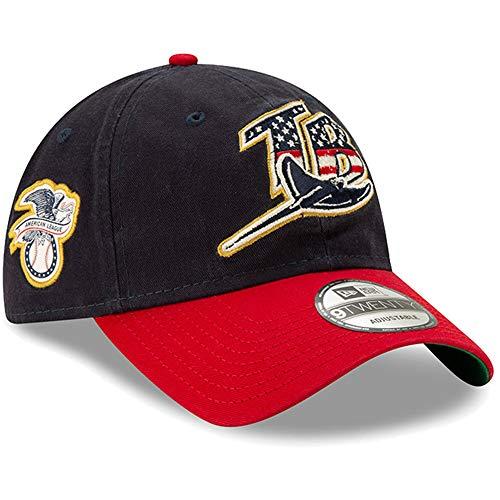New Era Tampa Bay Rays 2019 Stars & Stripes 4th of July 920 9TWENTY Adjustable Cap Hat