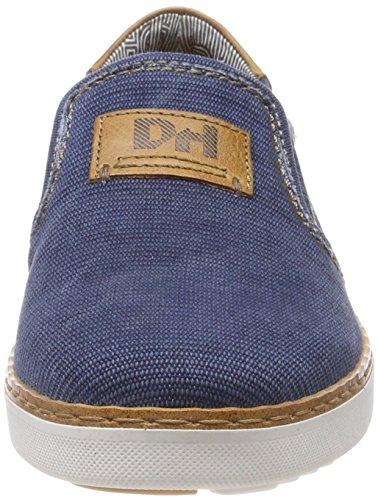 Baskets Bleu Hechter blue Slip 811369606900 Daniel Homme 4000 on OPZnFxA