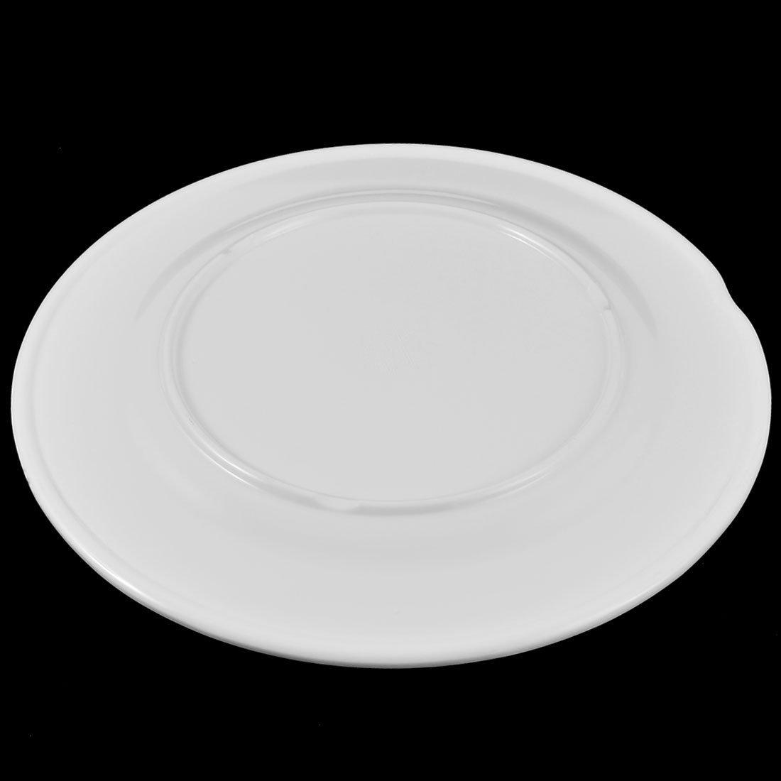 Amazon.com: DealMux Plastic forma redonda Fruta Doce placa prato 22, 5 centímetros Bandeja Container: Kitchen & Dining