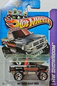 2013 Hot Wheels Hw Showroom - 1987 Toyota Pickup Truck
